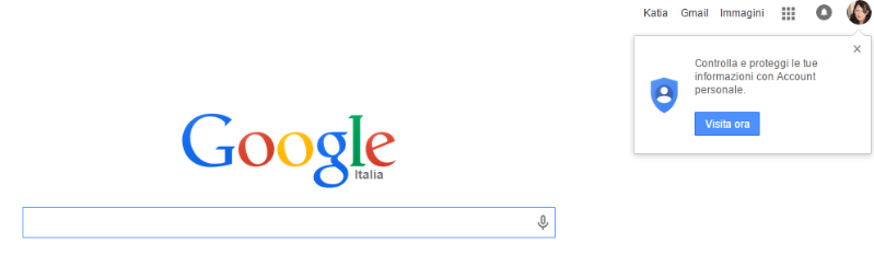 schermata google