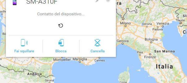 Geolocalizzazione Smartphone